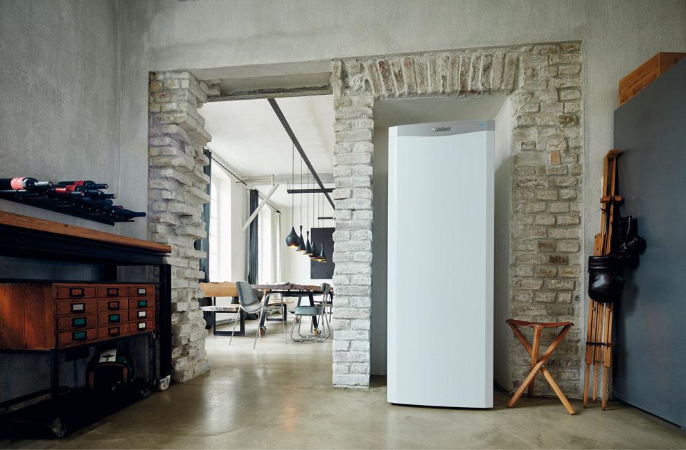 Style industriel : une chaudière pile à combustible installée dans un loft