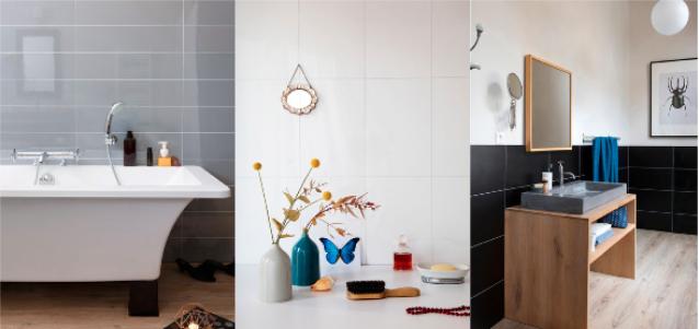 Nouvelle offre murale BerryAlloc, spéciale salles de bains.