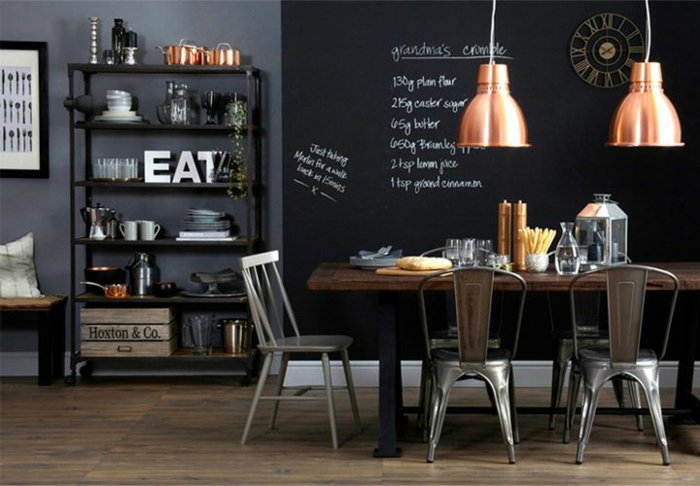 grande-ardoise-murale-peinture-tableau-noir-mur-ardoise-idee-deco-cuisine-salle-a-manger
