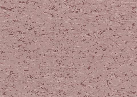 Un échantillon de sol vinyle Gerflor moucheté vieux rose