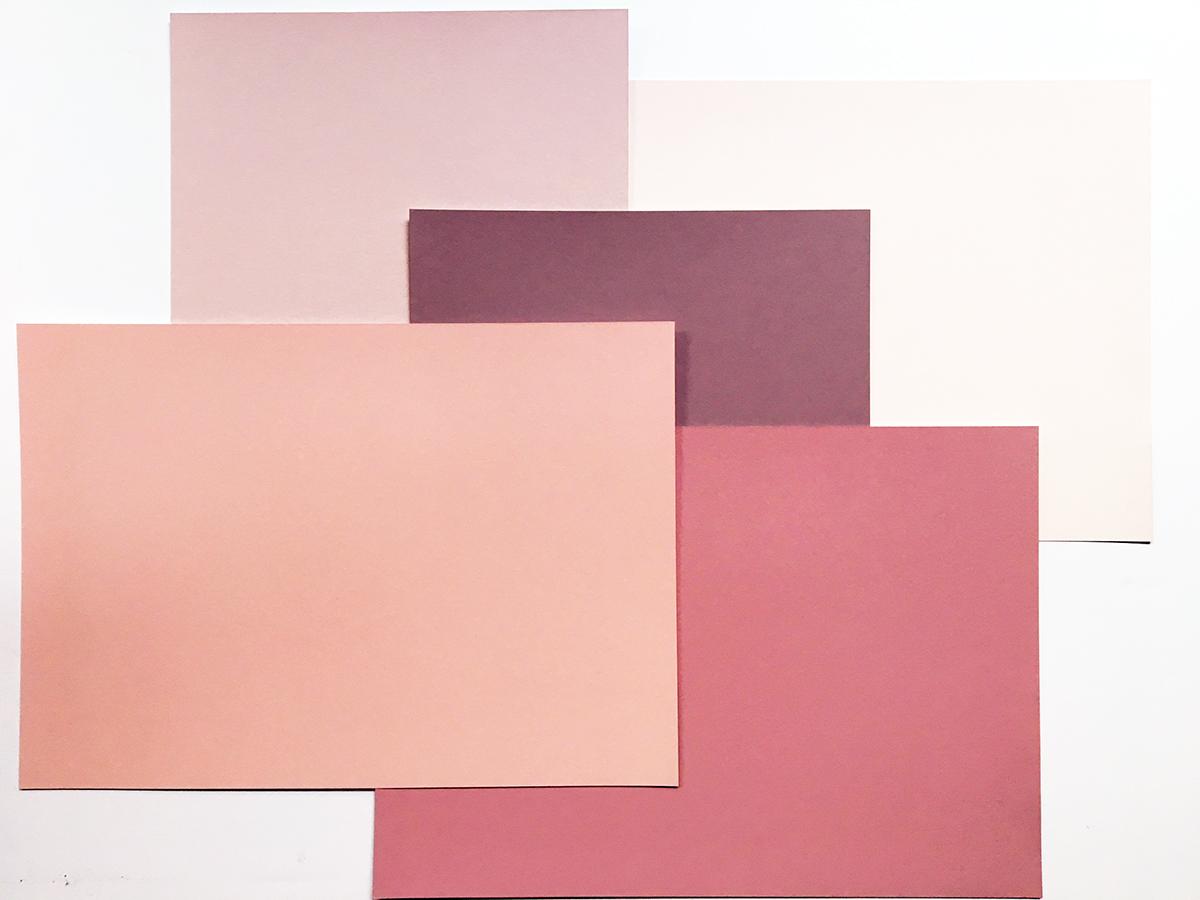 Palette de teintes Mitre en couleur